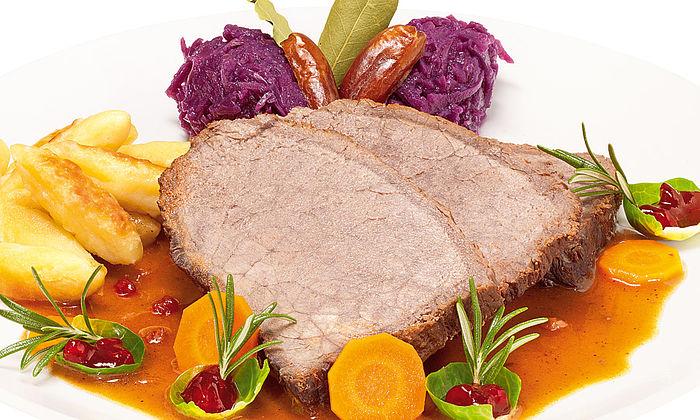Glühwein-Rinderbraten