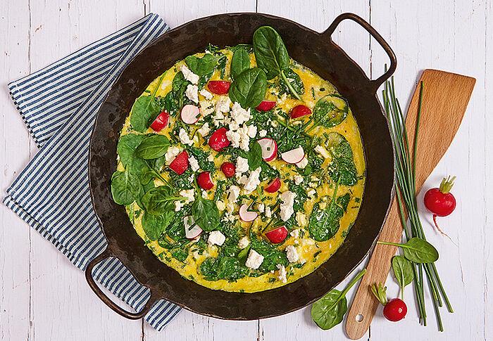 Frühlings-Omelett