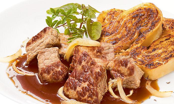 Bierfleisch vom Prima Schwein