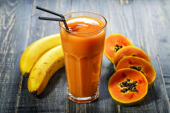 Papaya-Bananen-Smoothie