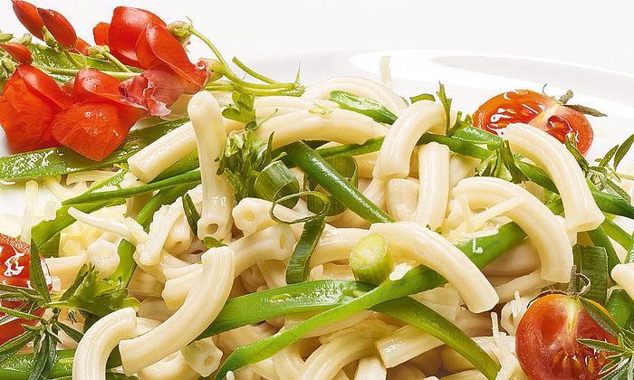 Grüne Bohnen-Nudel-Salat