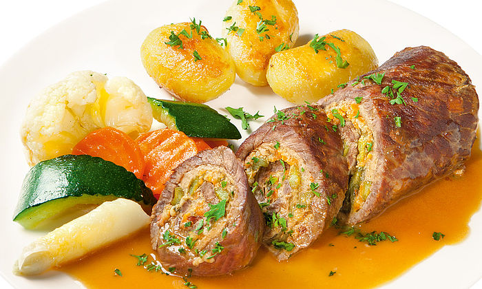 Rinder-Roulade