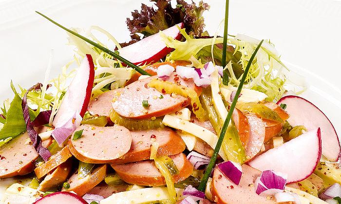 Wiener Wurstsalat nach Schweizer Art