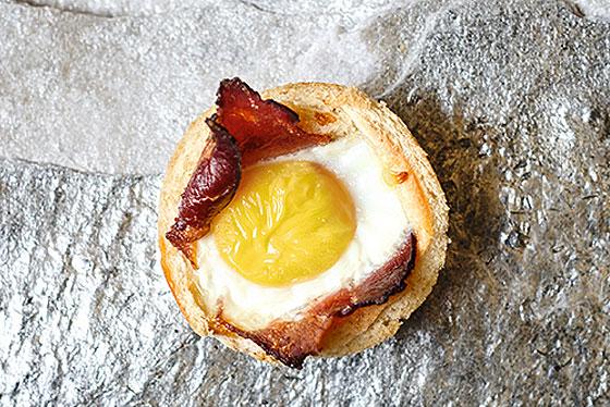 Zum Thema  Rezeptidee mit Ei: Toast-Muffins