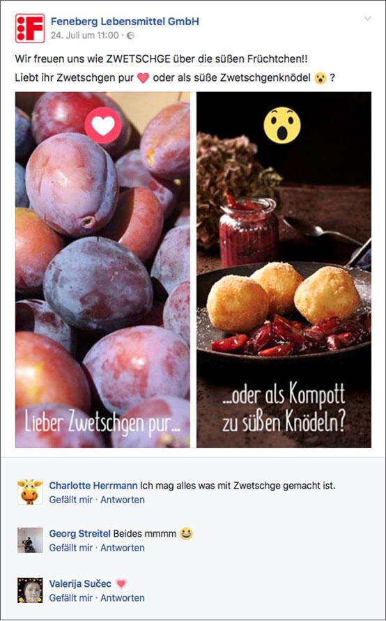 Zum Thema  Pure Frucht oder als Süßspeise?