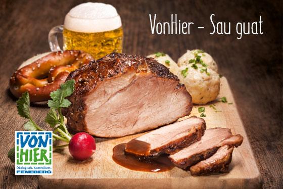 """Zum Thema  Schweinefleisch – natürlich """"VonHier"""""""