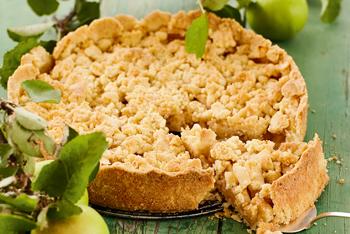 VonHier Apfel-Streuselkuchen