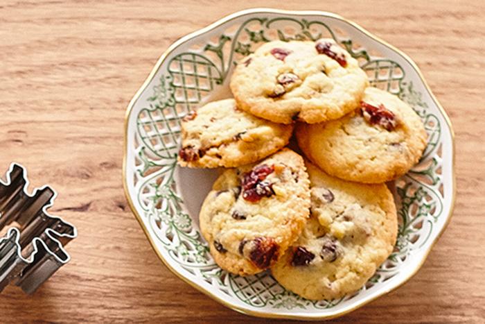 Cranberry-Schokoladen-Kekse