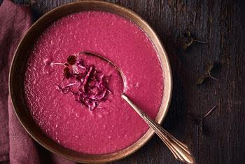 Blaukraut-Suppe