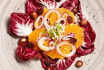Raddicchio Mandarinen Salat