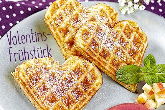 "Süßes <span class=""greenHead"">Valentins-</span>Frühstück"